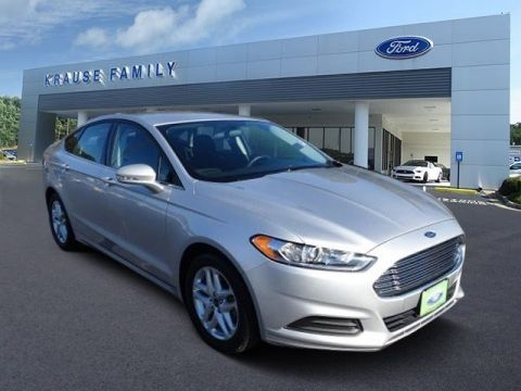 Certified Pre-Owned 2016 Ford Fusion SE FWD 4dr Car