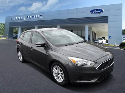 Certified Pre-Owned 2015 Ford Focus SE FWD Hatchback
