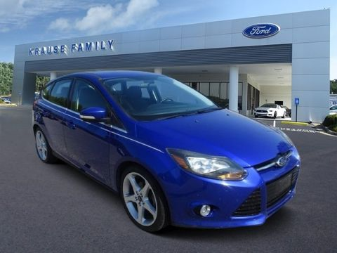 Pre-Owned 2013 Ford Focus Titanium FWD Hatchback