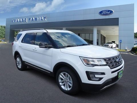 New 2017 Ford Explorer XLT FWD Sport Utility