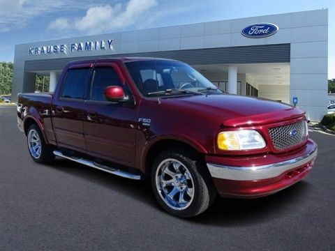 Pre-Owned 2003 Ford F-150 Lariat RWD Crew Cab Pickup